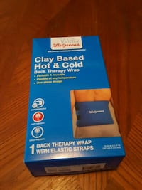 Clay based hot and cold therapy wrap - never opene Queens, 11103