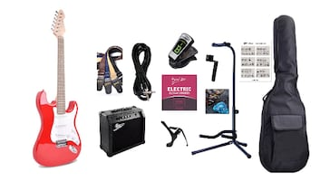 Electric Guitar Full Package ST Style full size for beginners Brand Ne