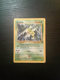 Ultra rare first edition scyther pokemon card Euless, 76039