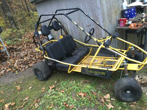 Go Karts Columbus >> Used Manco Scorpion 6 5hp Adult Sized Gokart Buggy For Sale In