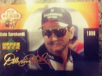 1998 Dale Earnhardt Upper Deck trading card PURCELLVILLE