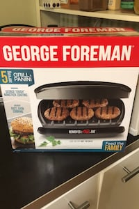 George Foreman grill and panini Toronto, M1T 3N8