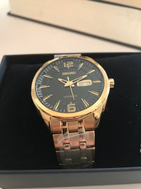 Seiko watch snkn48 - brand new- 1 year guarantee Vancouver, V5Z 2L7