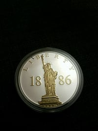 Statue of liberty Collectible coin Inwood, 25428