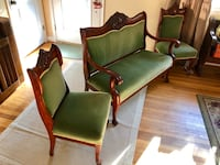 Vintage Chair Set, settee and 3 chairs Severna Park, 21146
