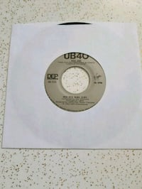 "UB40 ""Red Red Wine""  45rpm Toronto, M8Z 2A2"