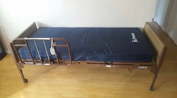 Invacare Hospital Bed with Prius Attune Mattress