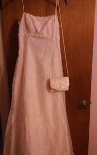 pink spaghetti strap gown and purse Lake Wales, 33898