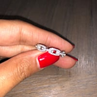Sterling Silver CZ Ring - Size 8 Davie, 33314