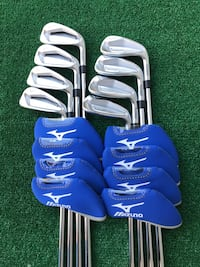 Mizuno JPX 919 Forged 8 Iron Set, 4 - GW, Stiff Flex Project X Shafts Houston, 77064