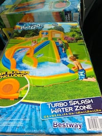 Water slide/pool