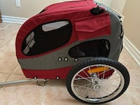Solvit Bike trailer for Dogs red  Richmond Hill, L4E