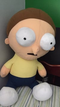 Giant Morty, Rick and Morty merch Toronto, M4J 3W9