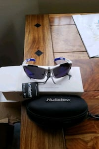 Polarized Hukisem sun glasses NIB