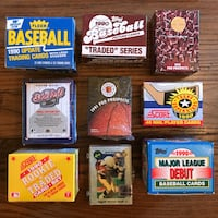Various Sealed Sports Card Boxes Toronto, M6G 3E9