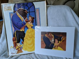 Beauty and the Beast- Vintage Poster+ Rare, Retired Lithograph