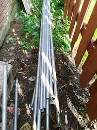 14 pc one inch galvanized  pipe most is 8 ft long  Kitchener, N2A 2J5