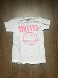 Nirvana Shirt from Urban Outfitters  Edmonton, T5H 2W2