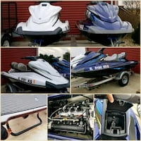 two white and blue personal watercraft collage Serena, 60549