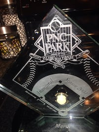 This is a 2001 PNC park inaugural authentic and fill clay the original dirt from PNC Park first season 2001 Whitehall, 15236