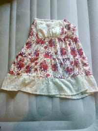 white and pink floral spaghetti strap dress Albertville, 55301