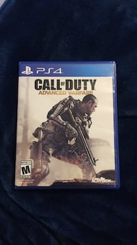 Call of Duty Advanced Warfare PS4 game case New Port Richey, 34655