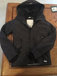 Dark Brown TNA Vale extra small jacket London, N6H 5A7