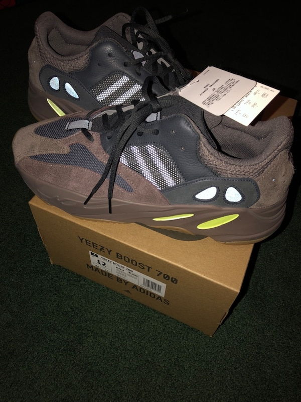 a13afd435 Used Yeezy boost 350 V2 zebra size 11 and Yeezy boost 700 wave runners size  12  700 for both or 400 for the wave runners and 350 for the zebras for  sale in ...