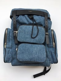 SAINT LAURENT BRAND NEW WITH TAGS DENIM BACKPACK! Toronto