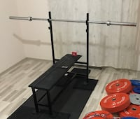Bench Press Sehpa Fitness Body