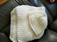 white and brown knitted textile Bensenville, 60106