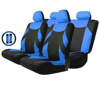 Car Seat Cover-Blue/Black-Brand New Toronto, M1R 3N6