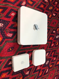 Apple Time Capsule 2TB router/backup drive + 2 Airport express extenders Los Angeles, 90292
