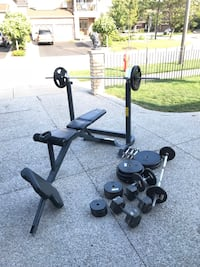 Home Gym weight set Mississauga, L5W 1H5