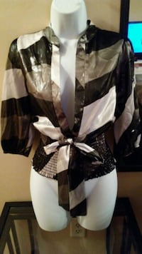 women's black and white dress Indianapolis, 46268