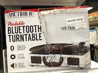 New! Victrola Portable Bluetooth Turntable  San Leandro