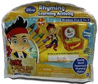 Disney JAKE AND THE NEVER LAND PIRATES Rhyming learning activity pack Brampton, L7A 3M5