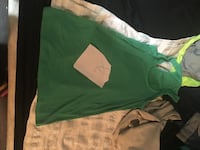 green and white crew-neck t-shirt Orillia, L3V 6H1