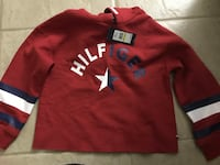 "Girls Hilfiger ""cropped"" Hoodie size 7-16 Cape Coral, 33904"