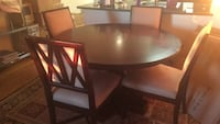 brown wooden dining table set Alexandria, 22312