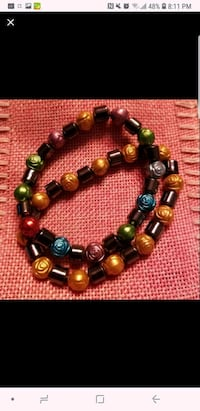 black and brown beaded bracelet Bethpage, 11714