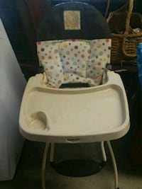 baby's white and gray high chair Cleveland, 37323