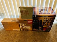 Craft Beer Making Kit 2 full sets plus extra High Point, 27262