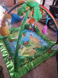 Jungle Theme Baby Playmat w/Mobile Edmonton, T5X 1T8