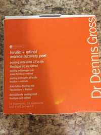 10 treatments of Dr Dennis Gross Ferulic and Retinol Wrinkle Recovery Peel Mississauga, L5E 3G2