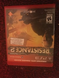 Resistance 2 PS3 game case Calgary, T3J 4A6