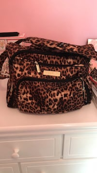 black and brown leopard print bag Middle Island, 11953