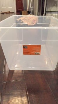 56 quart plastic storage box Washington, 20002