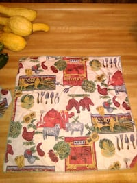 Country fabric napkins Cleveland, 37323