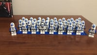 lego clone batallion 501st. lot of 32 very rare all in good condition Citrus Heights, 95621